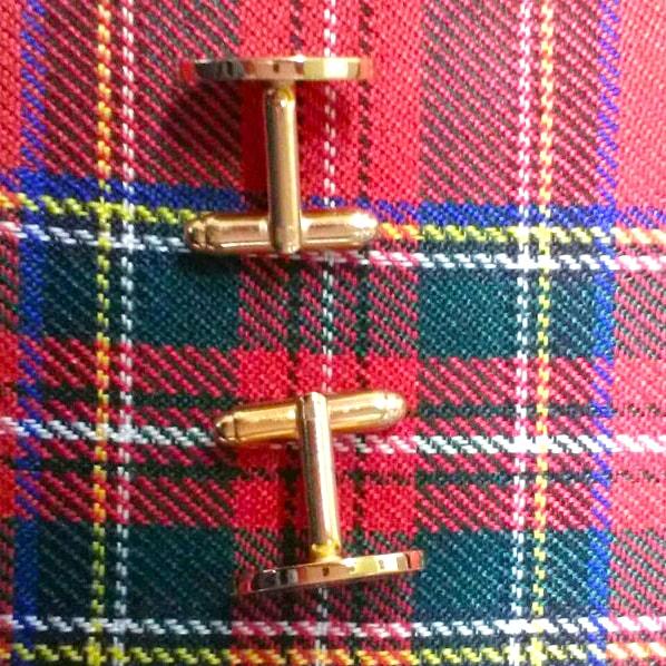 Cufflinks Scots Guards Capstar T-bar