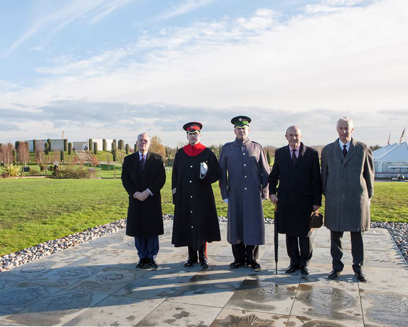HRH The Duke of Cambridge – held at the National Memorial Arboretum, Alrewas, Staffordshire on 12th December 2014.