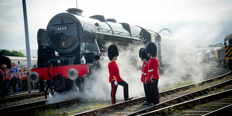Scots Guardsman locomotive